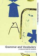 Grammar and Vocabulary: A Resource Book for Students (Routledge English Language