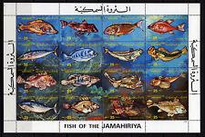 Libya 1983 - Jamahiriya Sc. # 1107 1983 Fish Species Sheet MNH**(A103)-6