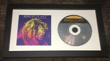 ROBERT PLANT LED ZEPPELIN SIGNED AUTOGRAPH MANIC NIRVANA FRAMED CD w/COA