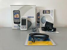 Rare Nokia 6110 Navigator White Unlock To All Network Fully Boxed VGC !!!