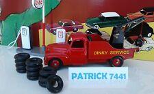 Lot de 12 Pneus 18/8 noir Dinky toys
