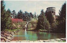 New listing Chimes Tower Waterfall Longwood Gardens Kennett Square Pennsylvania Postcard Pa