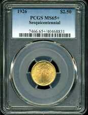 1926 G$2.5 Sesquicentennial Commemorative Quarter Eagle MS65+ PCGS 40468831