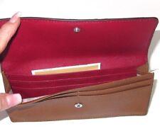 Michael Kors Flat Jet Set Travel Luggage & Cherry Leather Wallet NWT $148