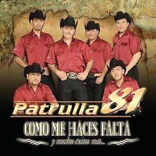 Patrulla 81 : Como Me Haces Falta Y Muchos Exitos Mas CD