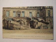 Palais de Fontainebleau - L'Escalier du Fer à Cheval / AK