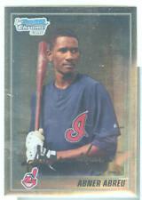 Abner Abreu Cleveland 2010 Bowman Chrome Baseball