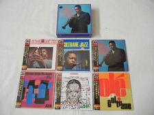John Coltrane JAPAN 6 titles Mini LP CD PROMO BOX SET