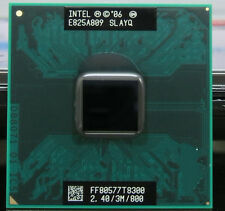 Intel Core 2 Duo T8300 SLAPA SLAYQ 2.4 GHZ 3MB 800MHZ Socket P Processor cpu r