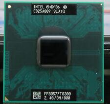 Intel Core 2 Duo T8300 SLAPA SLAYQ 2.4 GHZ 3MB 800MHZ Socket P Processor cpu