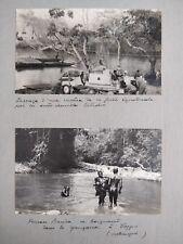 ✒ CROISIERE NOIRE CITROEN photographies originales Indigène BANDA CENTRAFRIQUE