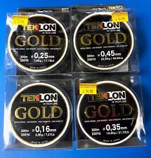 Grauvell Teklon Gold Fishing Line * Monofilament * Final Stock *