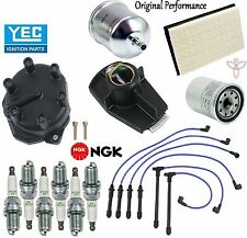 Tune Up Kit Wires Cap Rotor Spark Plugs for Nissan Quest V6; 3.3L 1999-2002