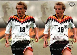 2011 Futera World Football Unique Lot #172 Jurgen Klinsmann P172 Ruby /450