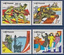 VIETNAM N°571/574** ANNIVERSAIRE LIBERATION SAIGON 1984, Vietnam 1482-1485 MNH