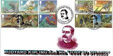 GB 2002 Rudyard Kipling Mike Kingsland UFFICIALE PRIMO GIORNO DI COPERTURA