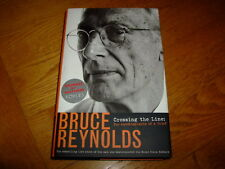 BRUCE REYNOLDS-CROSSING THE LINE-SIGNED-2003-HB-F-VIRGIN-VERY RARE