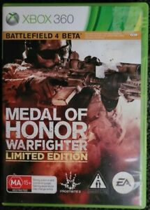 Xbox 360 Medal of Honor Warfighter Limited Edition AUS PAL FAST SHIPPING