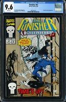 PUNISHER #67 (MARVEL COMICS 8/1992) TARANTULA and BATROC APP. CGC 9.6 NM+ WP