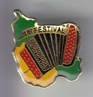 RARE PINS PIN'S .. MUSIQUE MUSIC ACCORDEON FESTIVAL CHAMPAGNE ARDENNES 52 ~C8