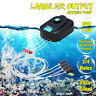 Aquarium Air Pump Oxygen Fountain Pond Air Output Water Fish Tank 2 or 4 Outlet
