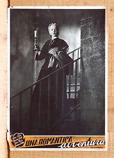 UNA ROMANTICA AVVENTURA fotobusta poster Cervi Girotti Noris Cortese K70