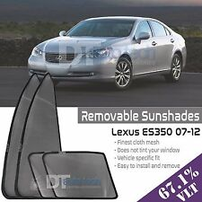 Custom Fit Mesh Sun Block Visor UV Protection 4-Piece 2007-2012 ES-350