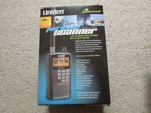 Uniden UBC 125XLT Compact Portable Scanner Excellent Condition