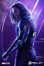 Bucky (Winter Soldier) Avengers Infinity War Poster Wall Art - NEW - 11x17 13x19
