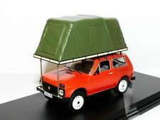 IST MODELS LADA NIVA WITH ROOF TENT 1981 RED 1/43 IST296MR