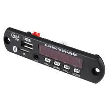 DC 12V Car Digital USB AUX Bluetooth MP3 Decode Board Radio Amplifier Remote