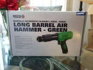 Matco Long Barrel Air Hammer Green MT2916G Pneumatic Mechanic Tool