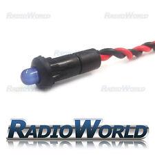 MEGA Bright Blu Lampeggiante LED rotonda Indicatore di avvertimento allarme AUTO CRUSCOTTO LUCE 12 V