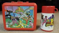 Vintage Saban Aladdin Mighty Morphin Power Rangers Lunch Box Thermos & Cup 1994