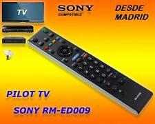 RM-ED009 MANDO A DISTANCIA COMPATIBLE  TV SONY REMOTE CONTROL