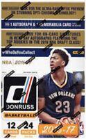 NBA Basketball 2016-17 Donruss Trading Card BLASTER Box