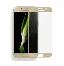 Samsung Galaxy A3 2017 Schutzglas Full Screen Cover 3D GOLD Schutzfolie