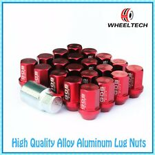 20pcs Red Aluminum tuner M12x1.5 35mm for Ford FIESTA FOCUS more Wheel Lug Nuts