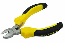 ROLSON MINI WIRE SIDE CUTTING PLIERS - LENGTH - 120mm - JAW LENGTH 15mm