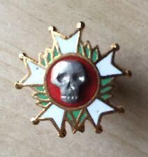 France Légion Honneur Au Péril De Leur Vie Fixation Pins Skull Crâne Totenkopf