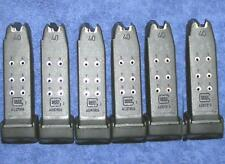 6 Glock 27 mags 10 round. Gen 4 factory Glock. New mag X 6 magazines