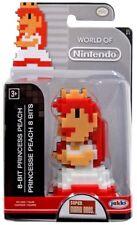 World of Nintendo Princes Peach 8 Bit 2.5-Inch Mini Figure