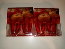 Bath And Body Works Pumpkin Apple 2 Pack Wallflowers Lot Of 2