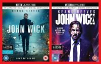 John Wick and John Wick Chapter 2 4k Ultra HD + Blu-ray + Digital Download