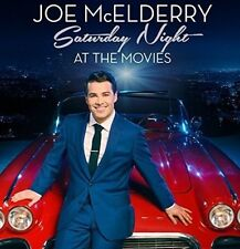 JOE McELDERRY SATURDAY NIGHT AT THE MOVIES BRAND NEW SEALED CD