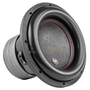 "12"" Subwoofer Dual 2 Ohm 1100 Watts Rms Car Audio Sub Audiopipe Tx Bdc4 12D2"