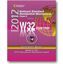 W32 National Standard Residential Mechanical Study Exam Prep Questions Workbook