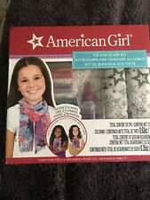 American Girl Crafts Tie Dye Scarf Kit Design 2 Scarves  NEW