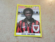 original FOOTBALL STICKERS PANINI FOOT 89 1989 Jules BOCANDE PSG (Nr 249)
