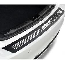 Carbon Fiber Pattern M Performance Emblem Car Rear Bumper Decal Sticker For BMW
